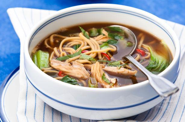 Oriental Chicken Noodle Soup Recipe Goodtoknow