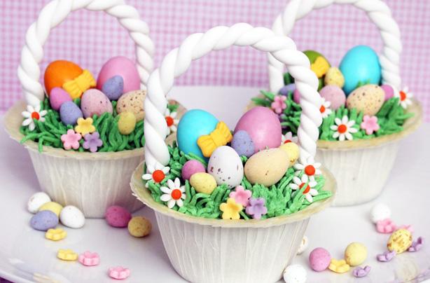 Easter basket cupcakes recipe goodtoknow easter basket cupcakes recipe negle Gallery