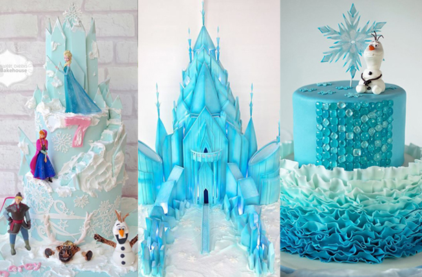 Astounding Frozen Birthday Cake Ideas Birthday Cards Printable Opercafe Filternl
