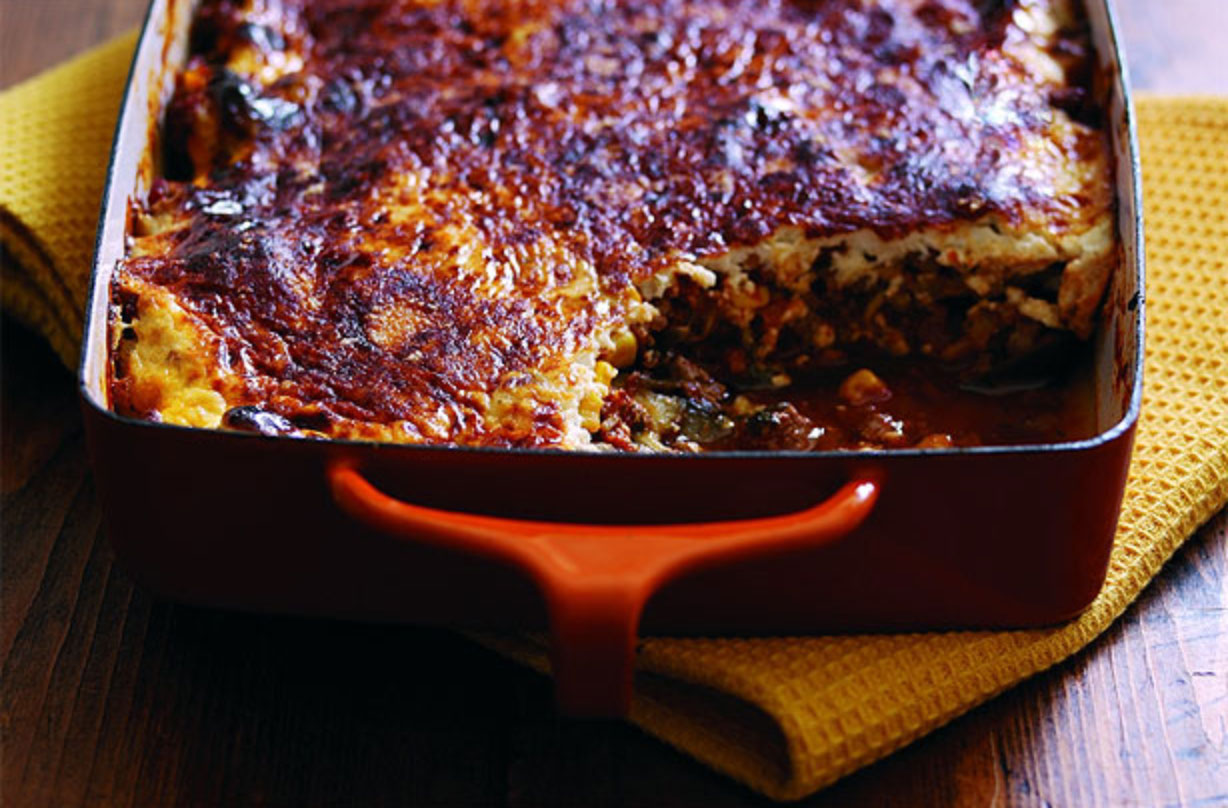 Vegetarian Moussaka Greek Recipes Goodtoknow