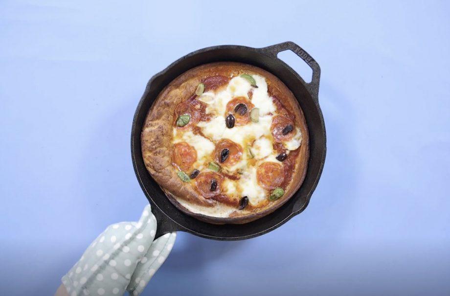 Dutch Baby Pancake Pizza