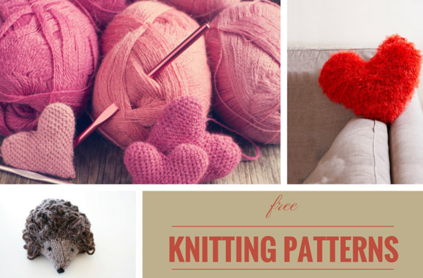 Free knitting patterns UK