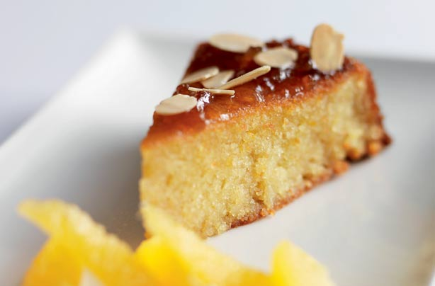 Orange Rough Cake Recipe