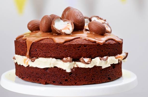 Creme Egg Cake Recipe Goodtoknow