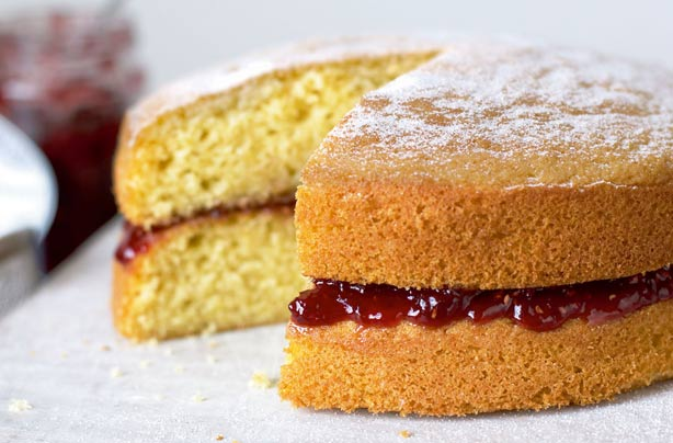 Try this classic Victoria sponge recipe from baking queen Mary Berry