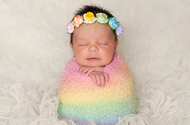 Rainbow baby names for girls