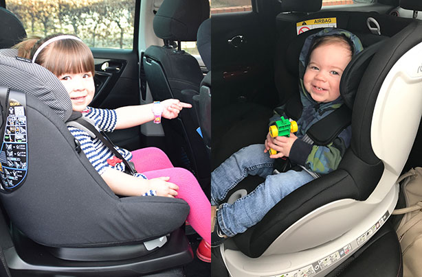 Swivel Car Seat Reviews Our Parents Put Rotating Seats To The Test