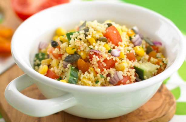 Easy couscous salad recipe goodtoknow sisterspd