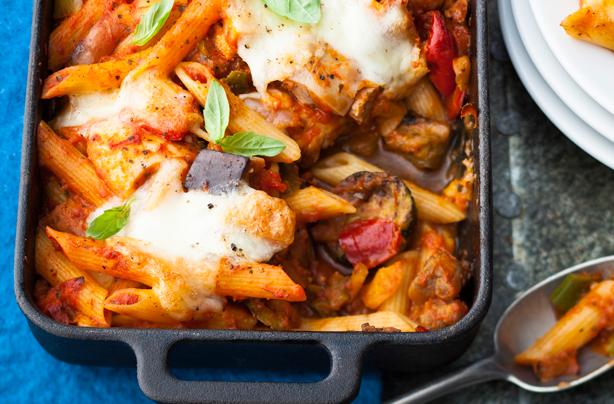 Chicken And Tomato Pasta Bake Recipe