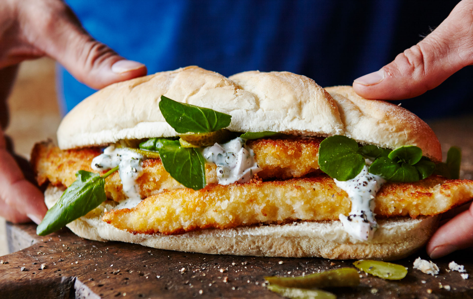 Joe Wicks Fish Finger Sandwich Recipe Goodtoknow