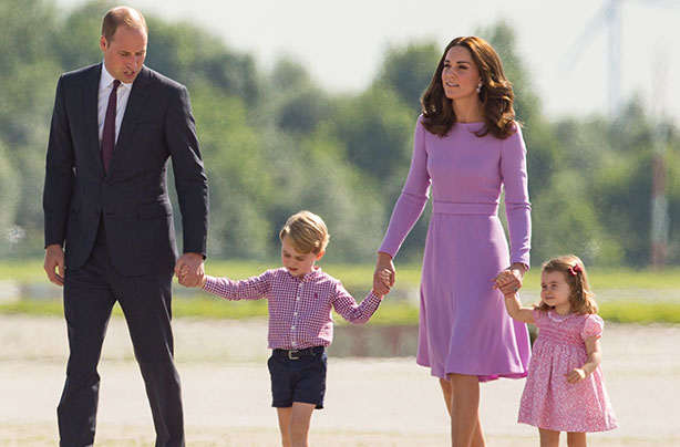 Prince William reveals he no longer rides motorbikes because of Prince George and Princess Charlotte