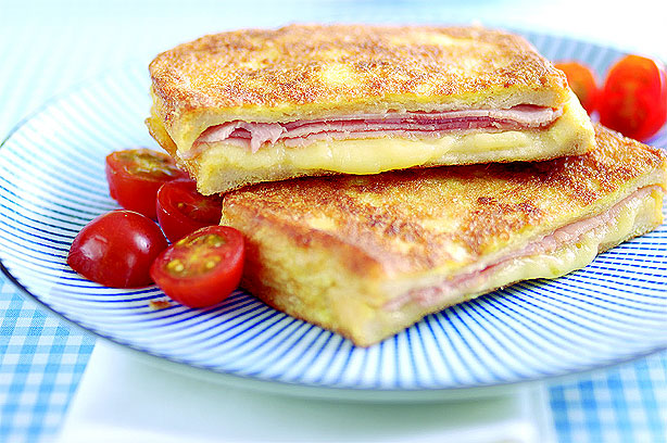 Eggy Bread With Ham And Cheese | Lunch Recipes | GoodtoKnow