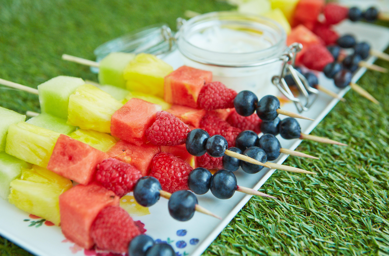 Fruit Kebabs Dessert Recipes Goodtoknow