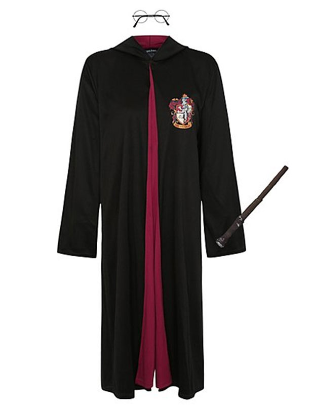 U0027The Full Length Cloak Replicates The Look Of Her Green Robes With  Intricate Printed Detail And The Feathered Pointed Hat Bears The Hogwarts  Crest For Added ...