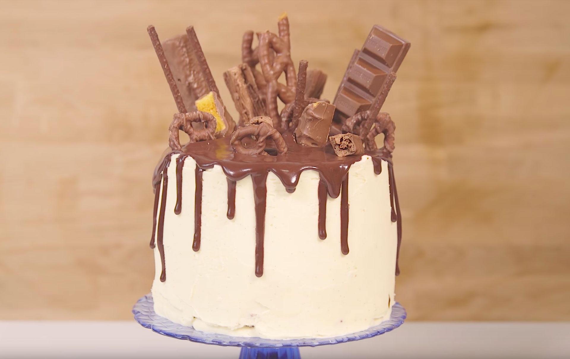 Chocolate Explosion Drip Cake Baking Recipes Goodtoknow