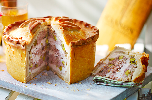 Hand Raised Pie With Hot Water Crust Pastry Recipe