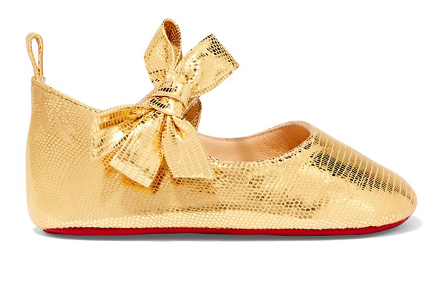 59d707499d8 Christian Louboutin releases baby shoe range complete with trademark ...