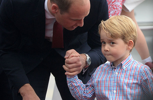 Prince William to teach Prince George to call 999 after attending the Pride of Britain Awards