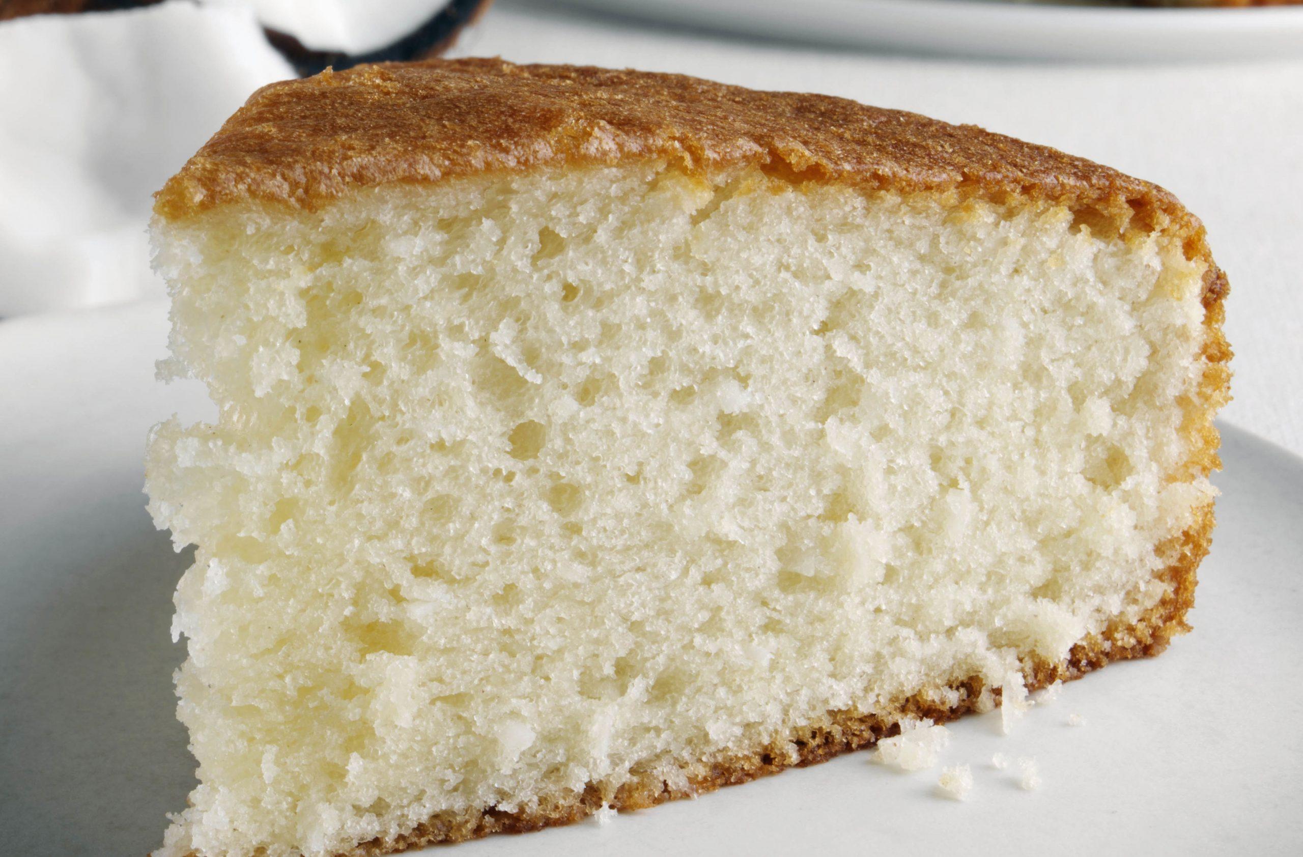 Pleasing Coconut Cake Baking Recipes Goodtoknow Funny Birthday Cards Online Inifodamsfinfo