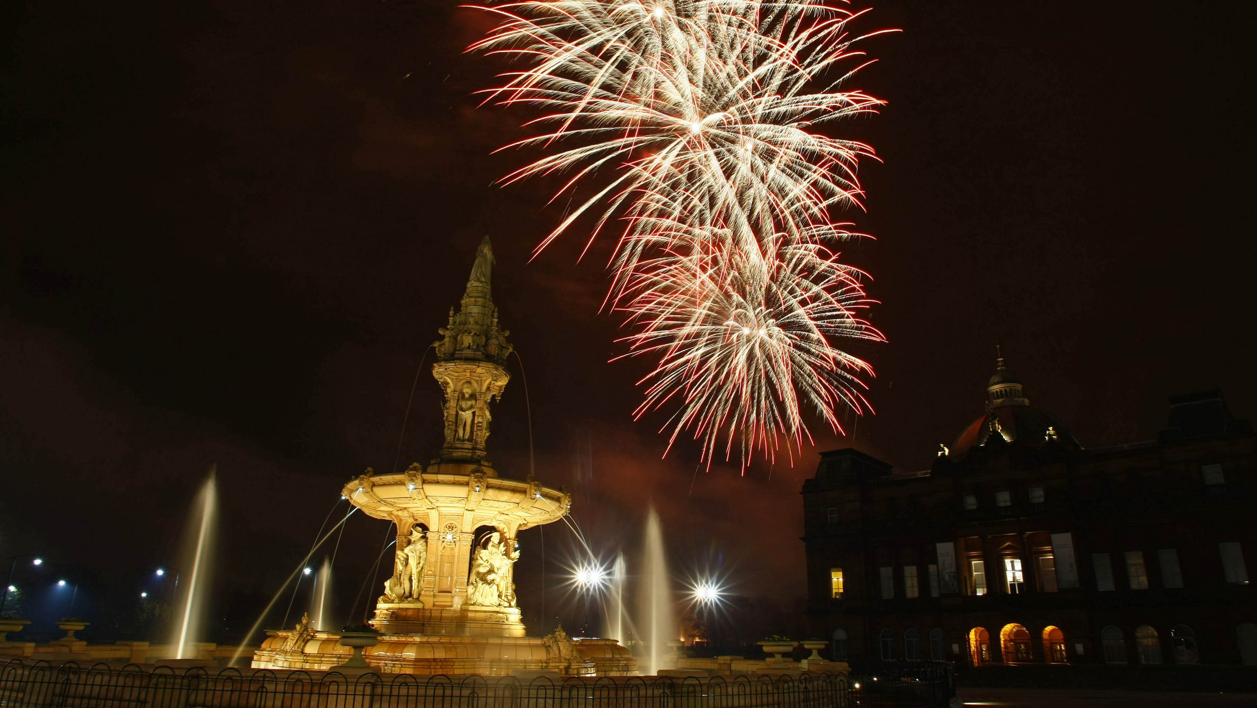 Firework displays 2018 Scotland