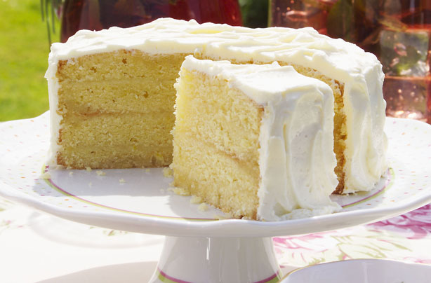 Easy Lemon Cake Recipe Uk