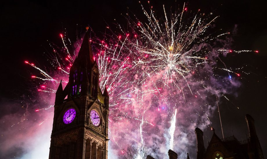 Fireworks displays 2018 North of England