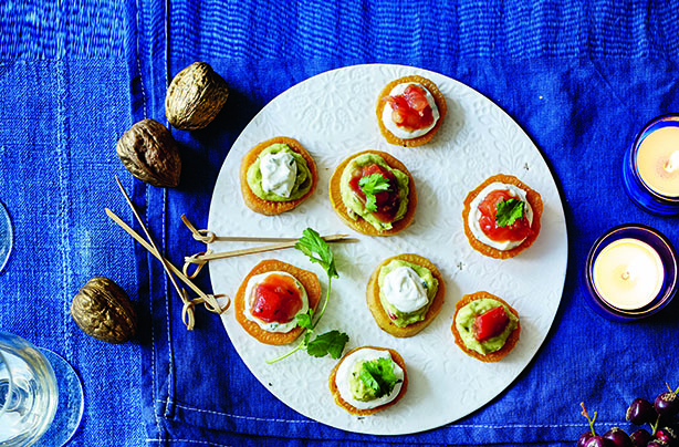 50 quick and easy canapes goodtoknow mexican roasted sweet potato bites solutioingenieria Images