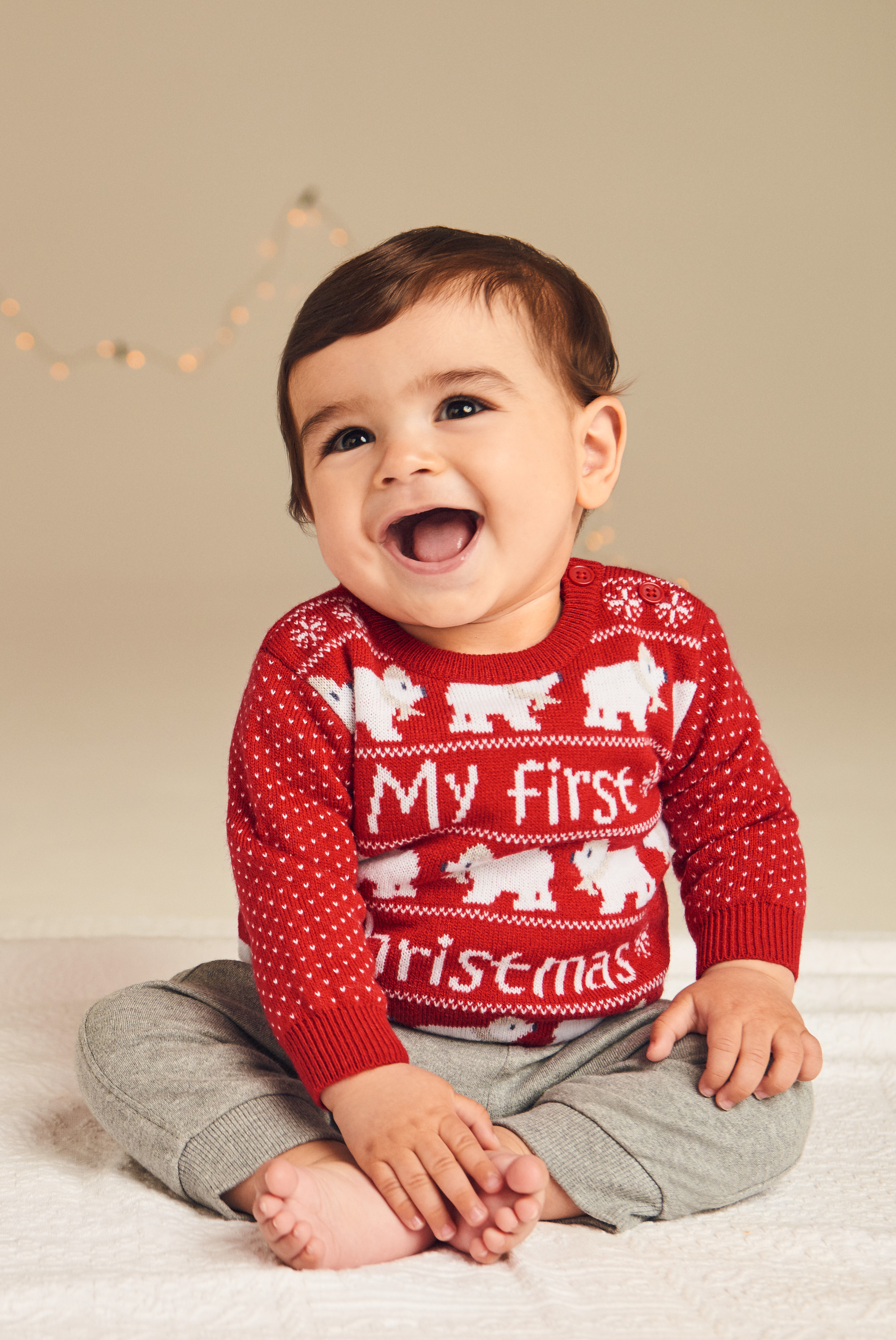 Christmas Pudding Baby Outfit.13 Adorable Baby Christmas Outfits From 6