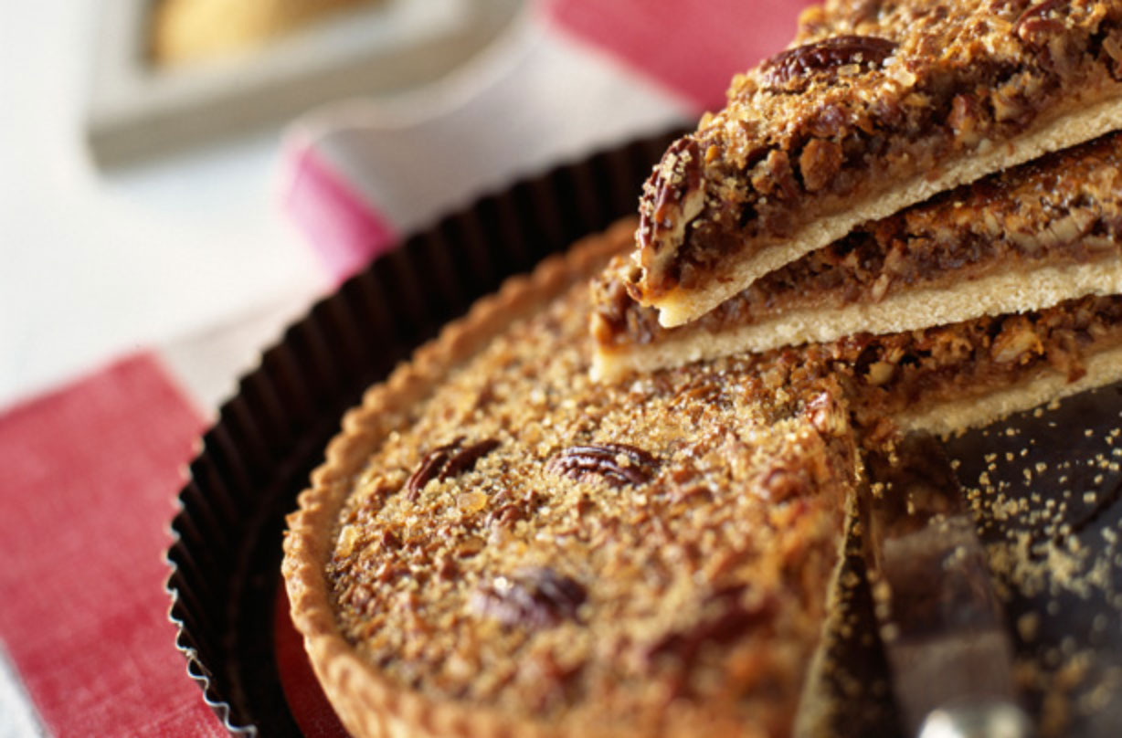Have a go at making this tasty pecan pie that's certainly an American classic