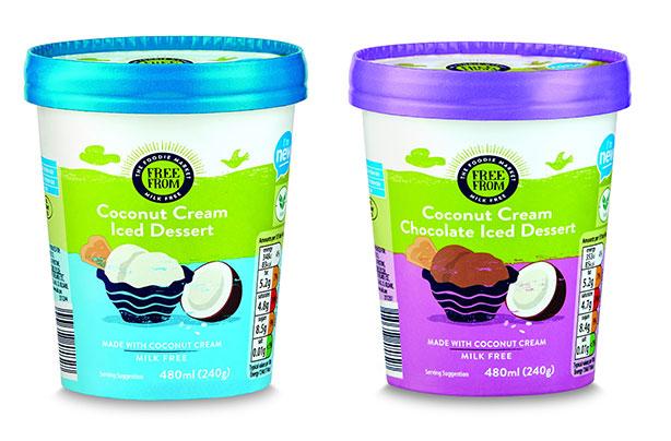Aldi launches dairy-free ice cream for just £1 99 per tub