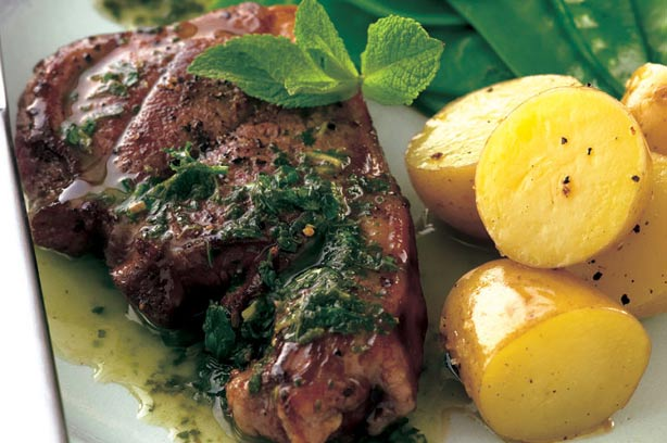 Baked Lamb Steaks Recipe Goodtoknow