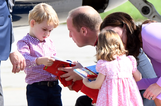 Prince George may have picked up a 'dreadful' habit from dad