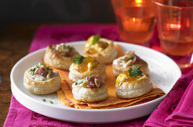 Vol Au Vent Selection Snack Recipes Goodtoknow