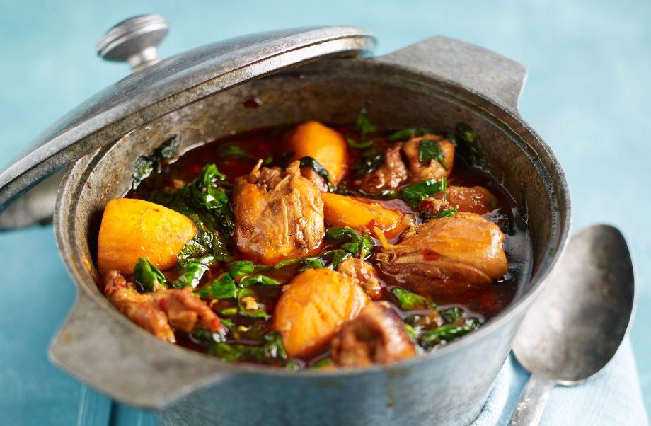 Chicken And Sweet Potato Stew