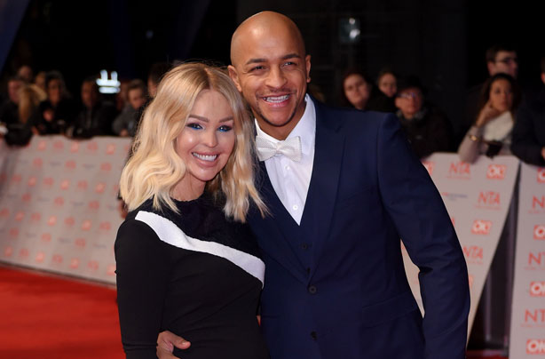Katie Piper celebrates 'first night out' since giving birth