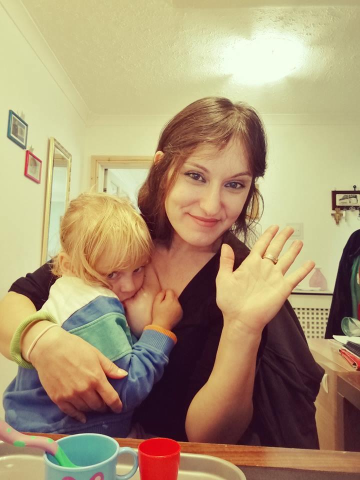 Mum breastfeeding
