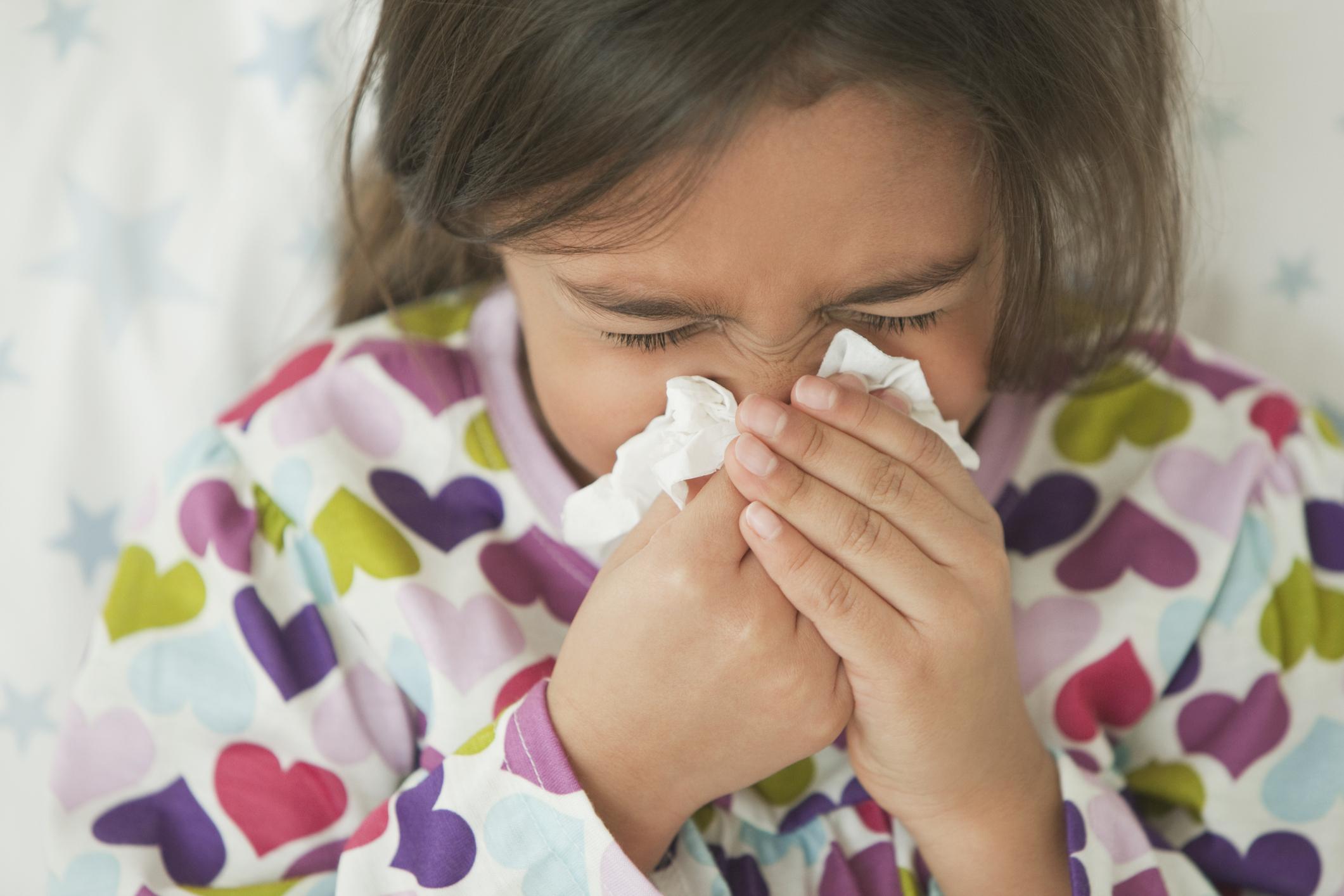 NHS free flu vaccine children under nine