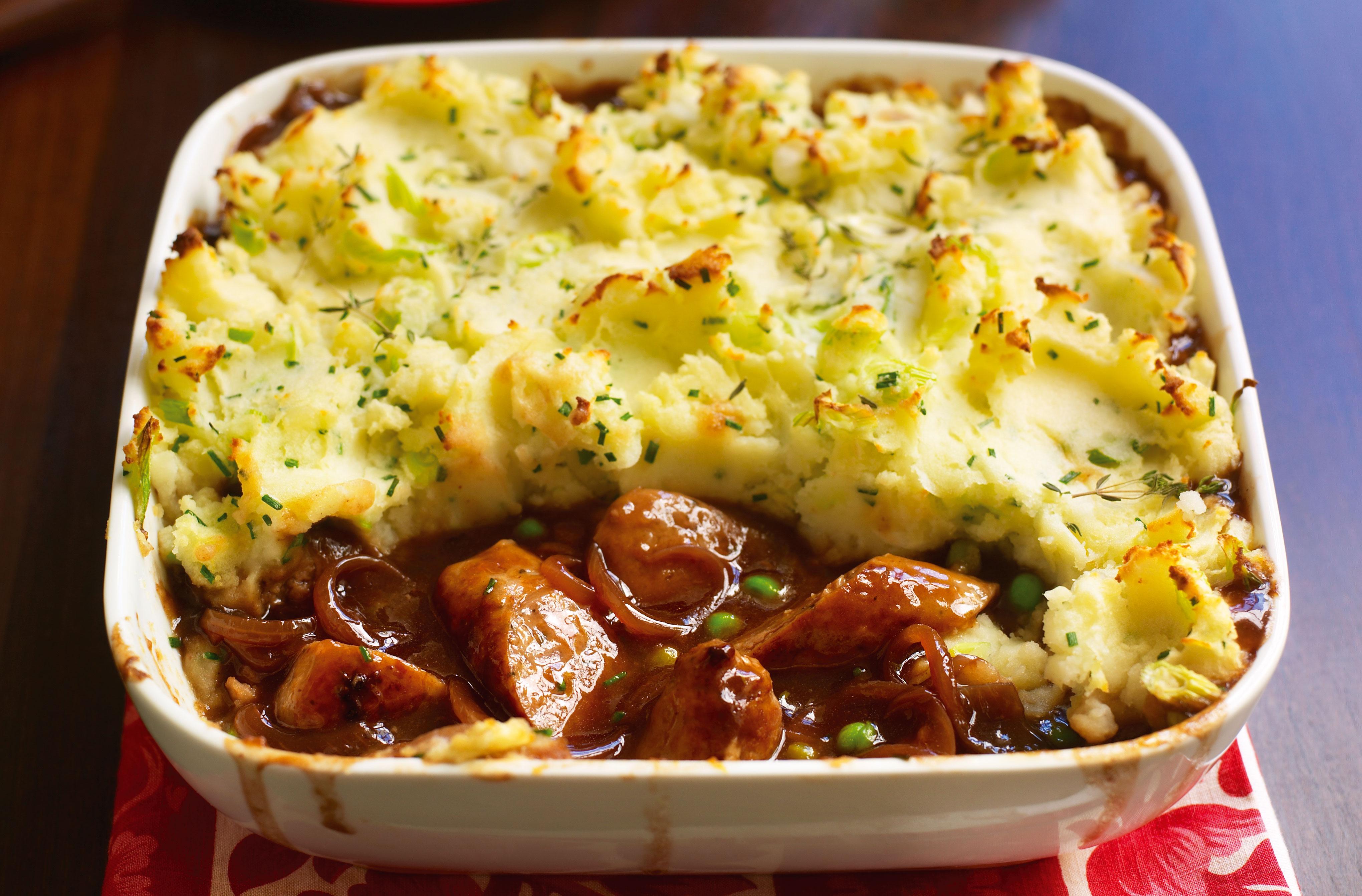 Sausage And Mash Bake Dinner Recipes Goodtoknow