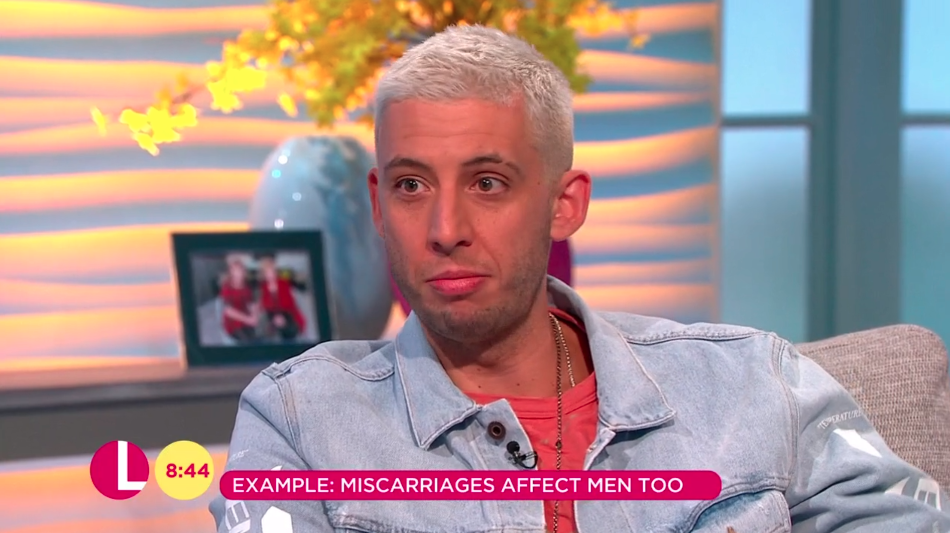 singer example opens up about how miscarriages affect men too