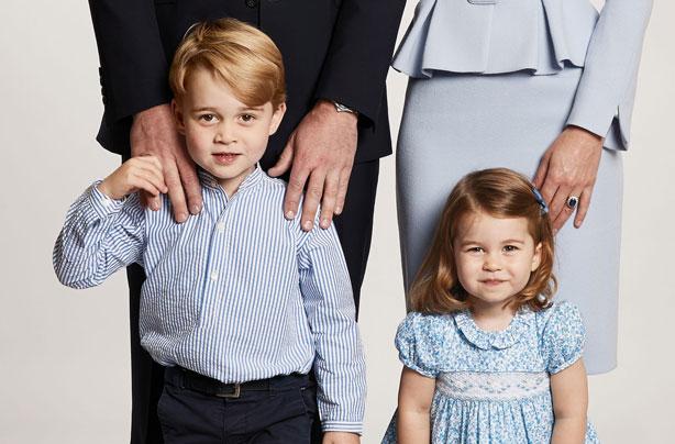 Prince George Christmas 2017