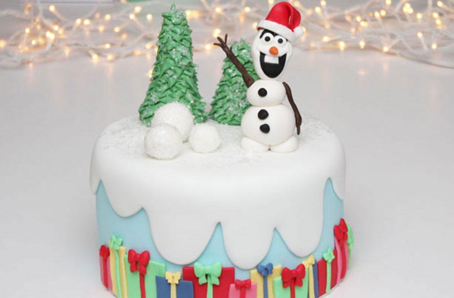 Easy Christmas Cake Decorating Ideas.40 Christmas Cake Ideas Goodtoknow