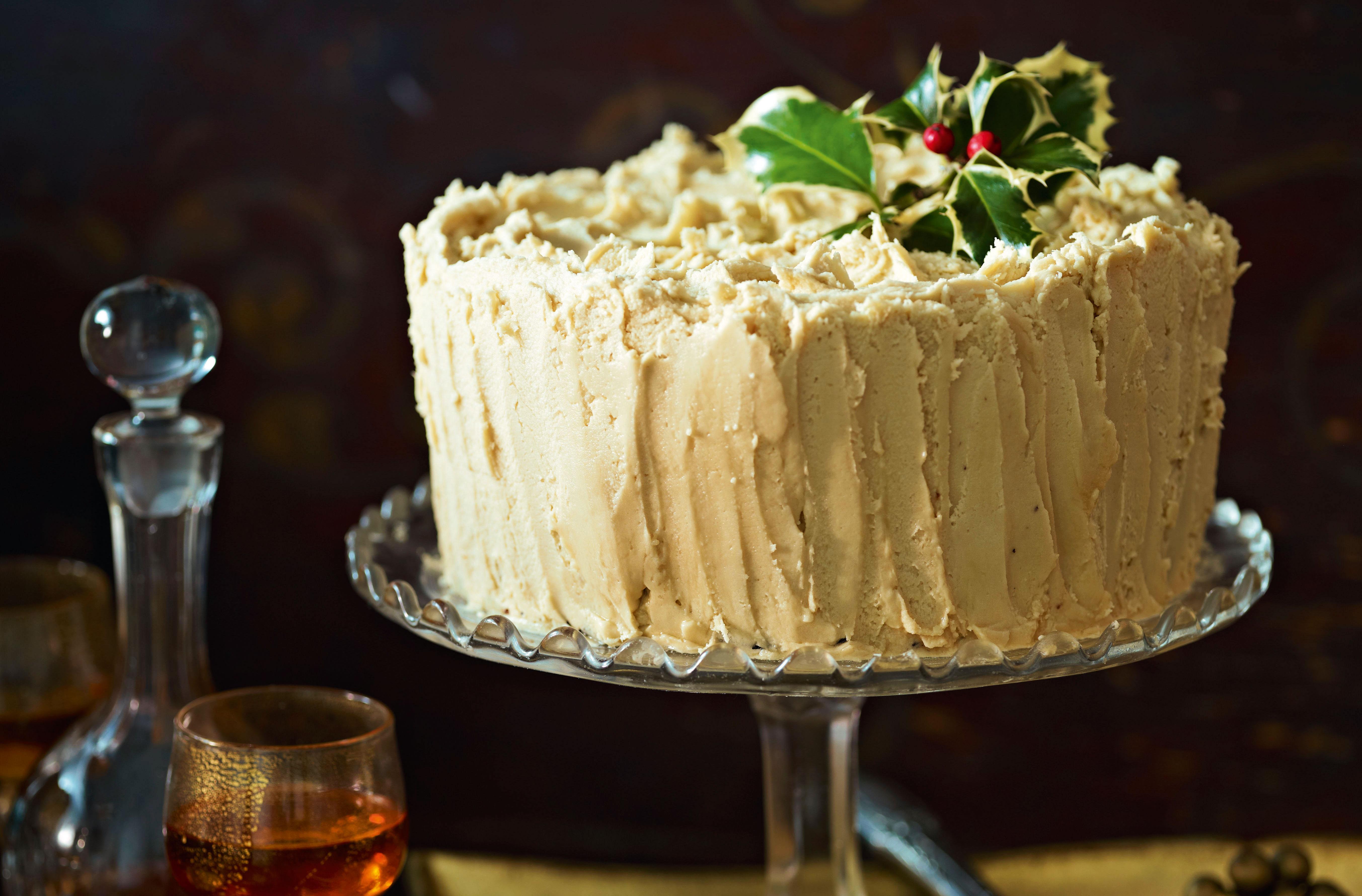 Low Calorie Christmas Cake Recipes: Ginger Christmas Cake