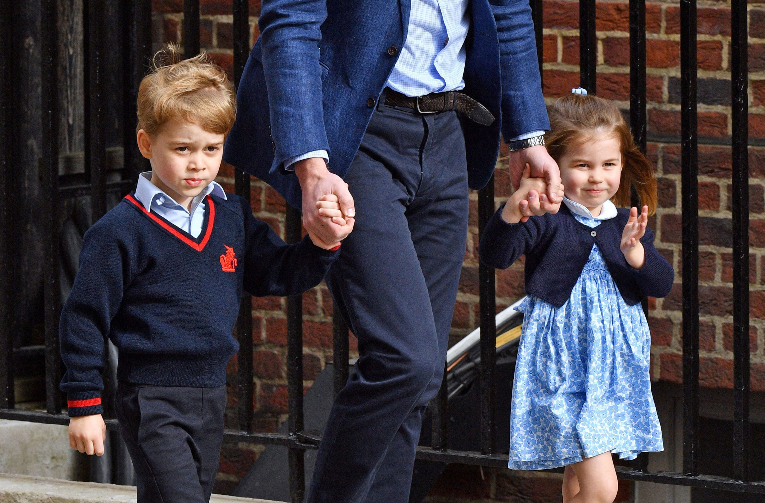 Royal baby Prince George Princess Charlotte