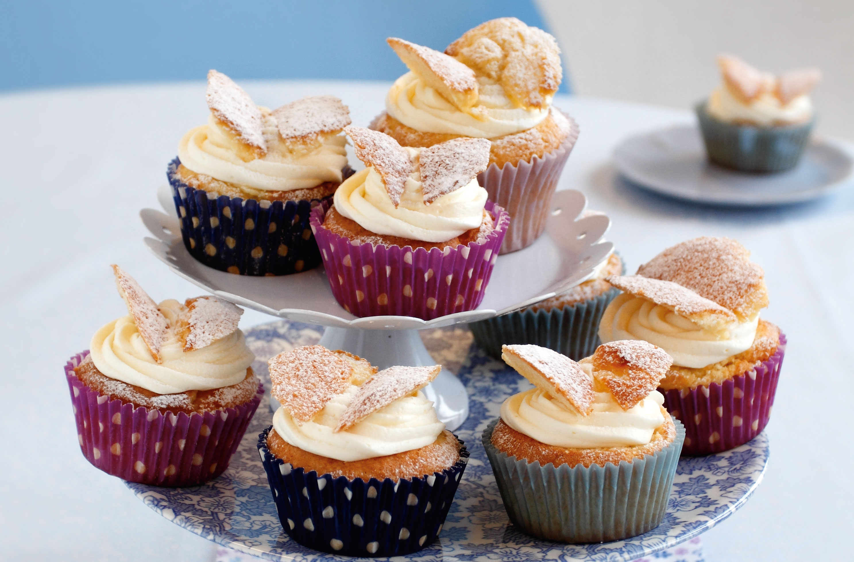 Rachel Allen S Fairy Cakes Snack Recipes Goodtoknow