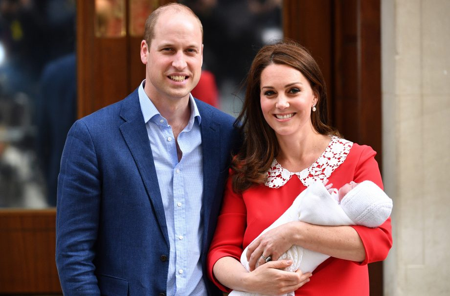 duke and duchess of cambridge lindo wing kate and william new royal baby son