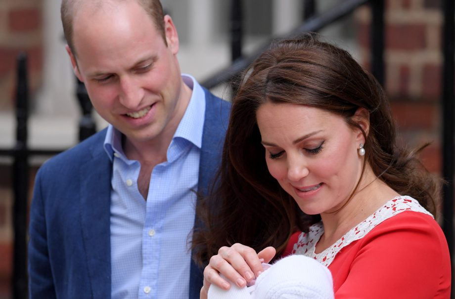 prince william kate and third baby