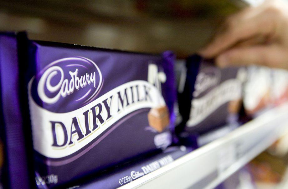Britain's favourite chocolate bar Cadbury Dairy Milk