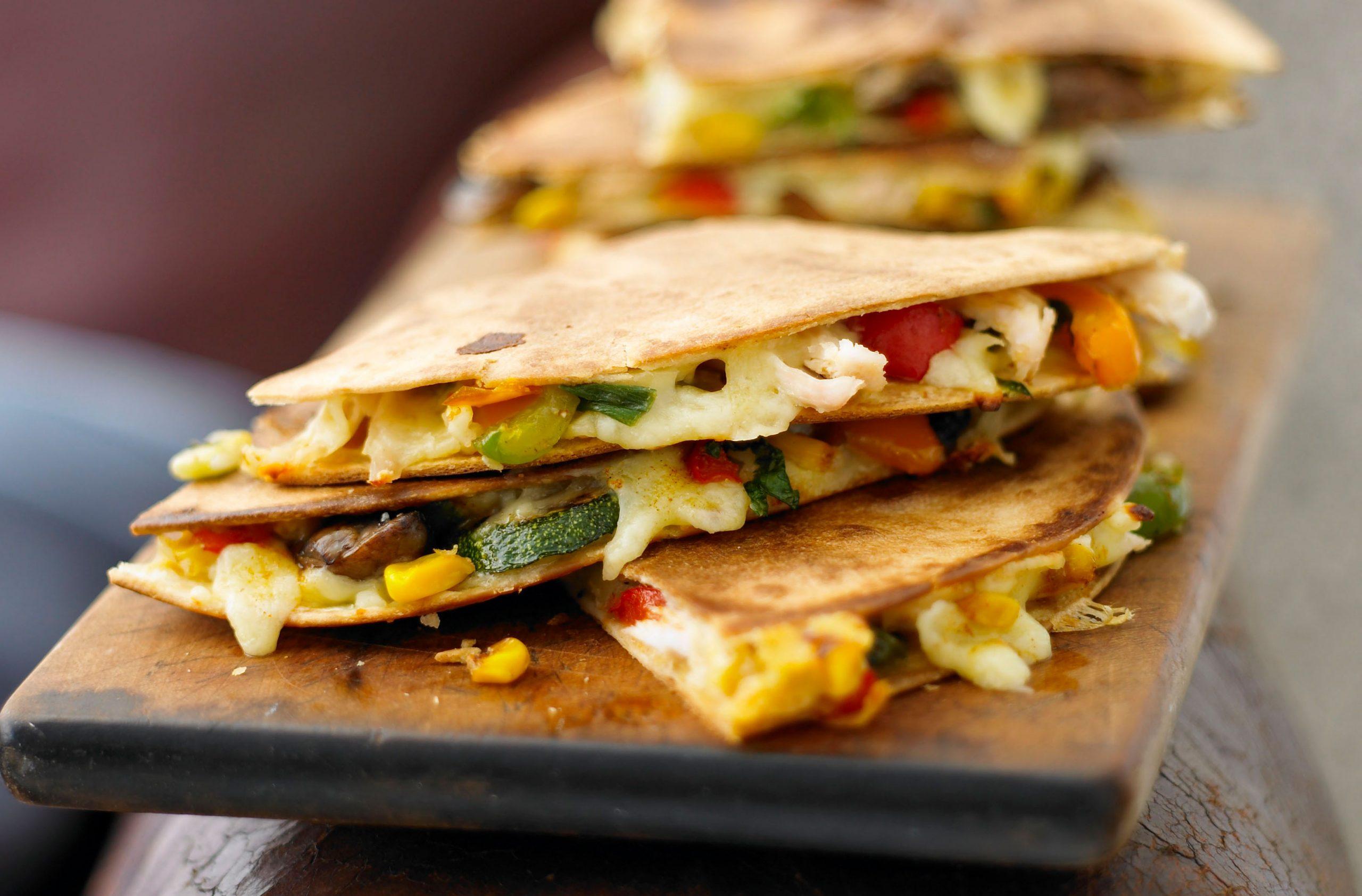 Cheesy Chorizo Quesadilla Mexican Recipes Goodtoknow