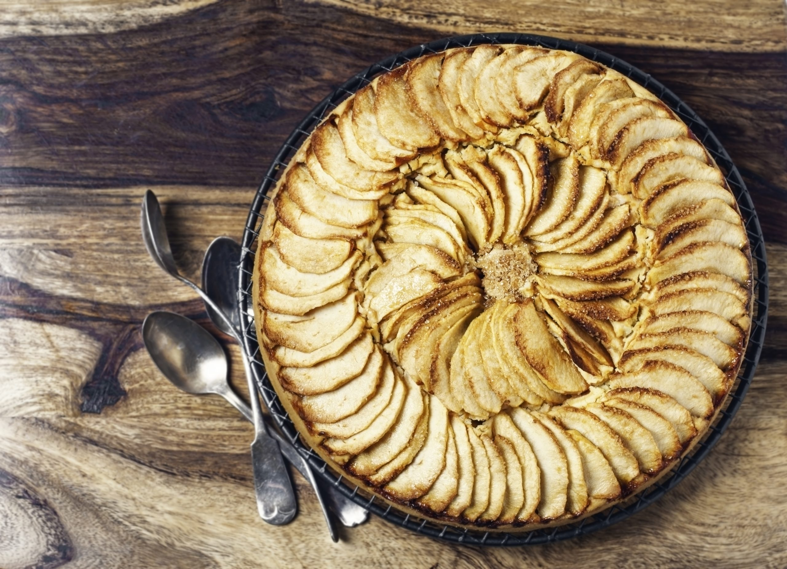 How to make french apple tart