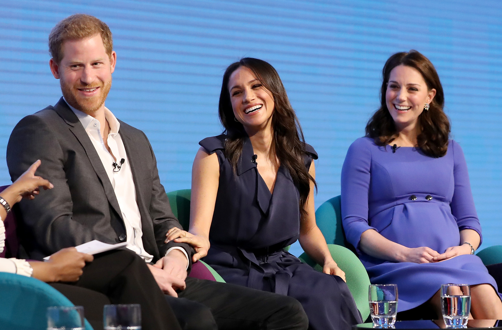 Prince Harry, Meghan Markle and Kate Catherine Duchess of Cambridge